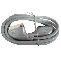 High Speed 21 Pin Scart Male TO Male Cable With ROHS , CE Manufactures