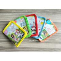 Buy cheap Cute Carton Print Transparent Reusable Ziplock Bags , PEVA Stationery Pouch from wholesalers