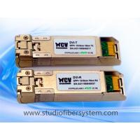Quality 10KM dual 1310nm 10G SFP+ Transceiver module applied in Telecommunications room,data center ,DVI,HDMI fiber converter for sale