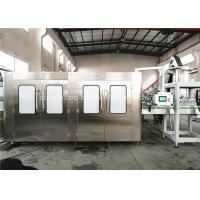 Auto Mineral Water Bottle Filling Machine , Liquid Filling Line For Water Plant Manufactures