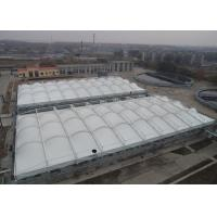 Heavy Duty Tensile Membrane Structures Large Square Shade Sail Steel Q235 Frame Manufactures