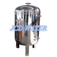 China Vertical Stainless Steel Water Tanks , Drinking Water Storage Tanks on sale