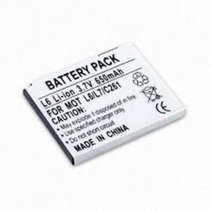 Li-ion battery for Motorola L6 Manufactures