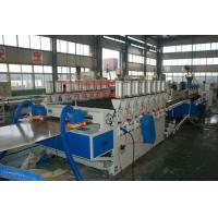 WPC Builing Template Wood Plastic Composite Extrusion Line , WPC Foam Board Extruder Manufactures