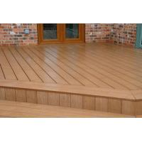 China Totally Recyclable WPC Composite Decking Timber For Garage Flooring on sale