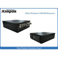 Car Portable COFDM Receiver Small Wireless Video Receiver 300MHz-900MHz Manufactures