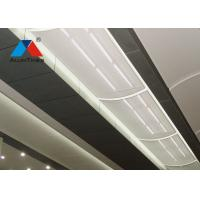 Irregular Perforated Metal Ceiling Panels Aluminum Alloy For Exhibition Hall