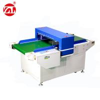PLC Control / Touch Screen Needle Metal Detector For Garments / Pillow Manufactures