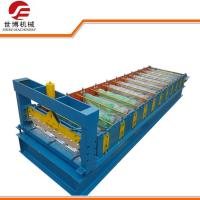 Roof Panel IBR Roll Forming Machine , 1000 Model Profile Sheet Making Machine Manufactures