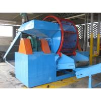 China Professional Portable Tire Shredder , Recycling Tires Machine High Efficiency on sale