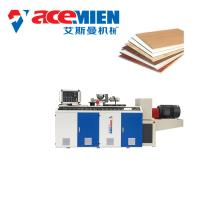 Decorative PVC Ceiling Panel Making Machine With Vacuum Setting Table Blade Cutter Manufactures