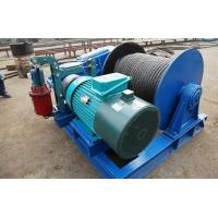 Lightweight Wire Rope Electric Winch , Electric Winches For Lifting JKL Series Manufactures