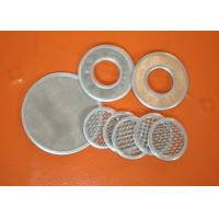 Micron Wire Mesh Filter Screen Mesh Filter For Well Water , 304 Stainless Steel Manufactures