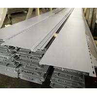 China Sand Matt Powder Coating Aluminum Extrusion Profiles For Aluminum Plank on sale