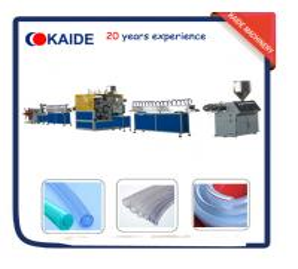 Quality PVC fiber Reinforced hose Making Machine/PVC Fiber Garden Hose Production Line for sale