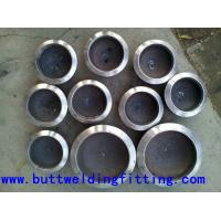 China Equal Polishing SCH40S SA / A403 Stainless Steel Pipe Cap For Oil / Exhaust on sale