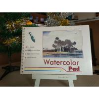 190gsm 24sheets Artist Paint Pad gummed watercolour pad A3 / A4 watercolour paper Manufactures