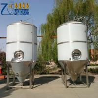 Industrial 2000L Beer Fermenter Beer Brewing Machine For Large Beer Factory Manufactures