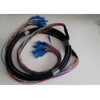 Outdoor Single mode / Multimode optical fiber patch cord with GYTA Fiber Cable Manufactures