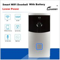Lower Power Smart WIFI video doorbell with battery Manufactures