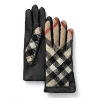 Leather Gloves with Cloth in Back Side (CS1043) Manufactures