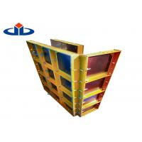 Heavy Duty Modular Steel Column Formwork Lightweight Formwork Systems Manufactures