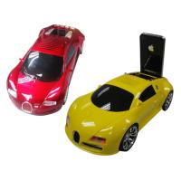China Portable car shape speaker With TF USB FM Radio on sale