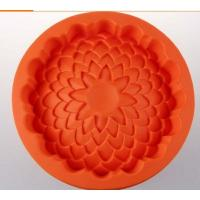 round shape silicone cake pans ,silicone baking  pans , flower shape silicone pizza  pan Manufactures
