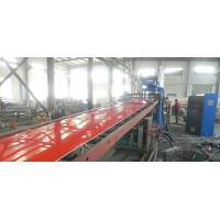 PP / PE Printing Plastic Sheet Extrusion Line , Recycled Plastic Sheet Production Line Manufactures