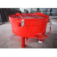 China Quick Mixing Pan Refractory Mixer Machine With Fast Discharging Speed on sale