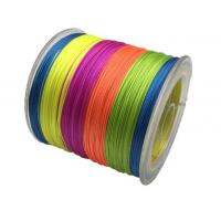 PE Braided Wire Fishing Line / Lead Core Fishing Line Customized Color Manufactures