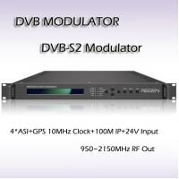 DVB-S2 Modulator QPSK/8PSK Modulation digital tv headend RMSS9010 Manufactures