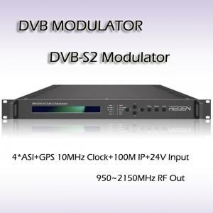 DVB-S2 Modulator QPSK/8PSK Modulation digital tv headend RMSS9010 Manufactures