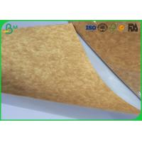 Stretching Resistance Kraft Liner Paper 400gsm 450gsm In Sheet / Roll Packing Manufactures