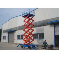 Movable and Self Propelled Hydraulic Scissor Lift Platform / Mobile Aerial Working Platform Manufactures