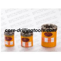 China Wet Diamond Core Drill Bits Impregnatred Casting High Matrix 9mm - 16mm on sale