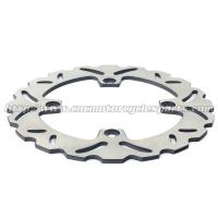 China Stainless Steel Motorcycle Brake Disc Wheel Disc Brakes HORNET 600 Heat Treatment 6 Holes on sale