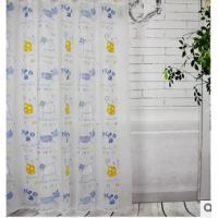 Polyester Printed Window Shower Curtain With Water Resistant Fabric Manufactures