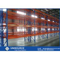 Q235B Industrial Steel Pallet Storage Racks With Heavy Loading Wooden Pallet Manufactures