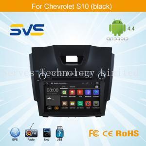 China Android 4.4 car dvd player for CHEVROLET S10 2013/ Orlando/ Colorado 2012/ Trailblazer LT on sale