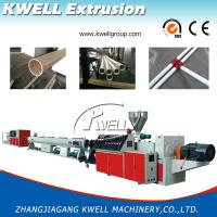 16-630mm Plastic Pipe Extrusion Machine, Water Tube Extruder, PVC/UPVC Pipe Making Machine Manufactures