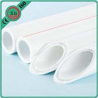 Buy cheap White Plastic PPR Pipe Polypropylene Plumbing Pipe For High Temperature Water from wholesalers