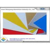 Oxidation Resistant Color Coated Aluminum Coil / Sheet Width 500 - 1500mm Manufactures