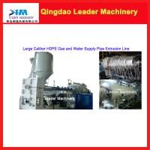 Large caliber/ diameter HDPE pipe making machine Manufactures