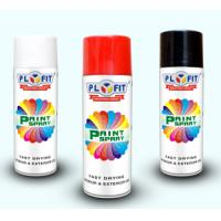 White impact enduring with fast dry Spray Paint Aerosol for leather painting   Manufactures