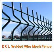PVC Coated Welded Fence (DCL008) Manufactures