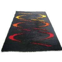 Twine Shining Polyester Silk Shaggy Carpet Made in China Rug Manufactures