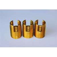 high quality and hot sales Customied self tapping threaded insert M3 M4 M5 M6 M8 M10 Brass inserts Manufactures