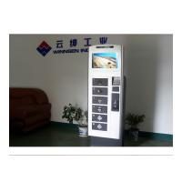 19 Inch Touch Screen LCD Cell Phone Charging Station Vending Machine Led Light Charger Manufactures