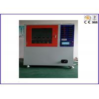 30 - 40mm Height Drop Environmental Test Chamber 100V - 600V High Voltage Tracking Tester Manufactures